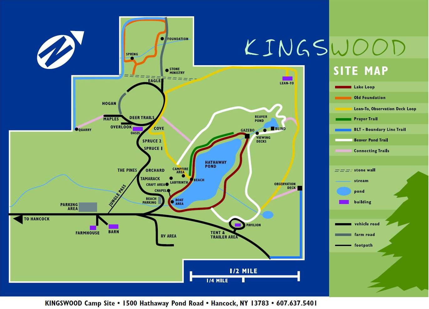 Kingswood Campsite Campsites